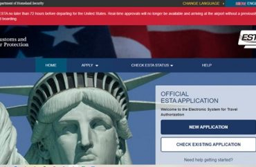 Travelling to USA – Check if your ESTA Visa has gone through