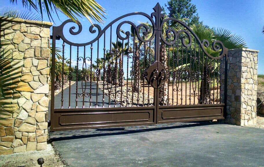 Why Homeowners Love Wrought Iron Gates