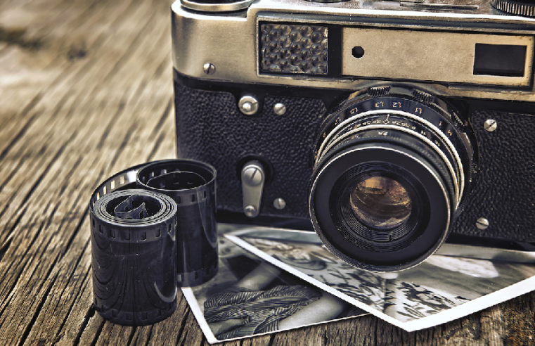 The EvoluThe Evolution of Film and Photographytion of Film and Photography